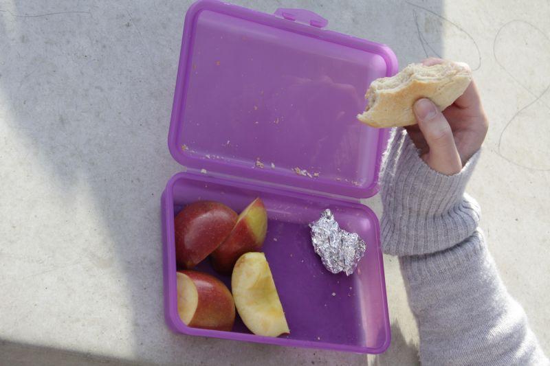 Fürs Essen bleibt mehr Zeit mit den neuen zehnminütigen Wechselpausen zwischen erster und zweiter sowie dritter und vierter Stunde.
