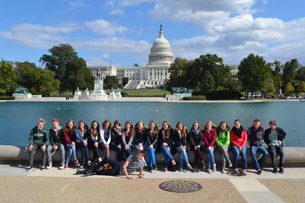 Im Zentrum der Macht: Kreuzauer Gymnasiasten in Washington DC.