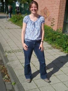 Mit voller Stelle fördert unterrichtet Monika Voigt Mathematik und Physik bei uns.