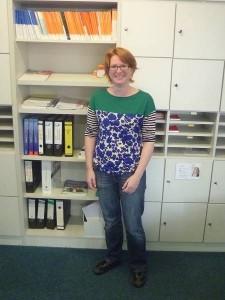 Julia Mertens ist mit vorerst sechs Unterrichtsstunden pro Woche in den Fächern Politik und Sozialwissenschaften aktiv.