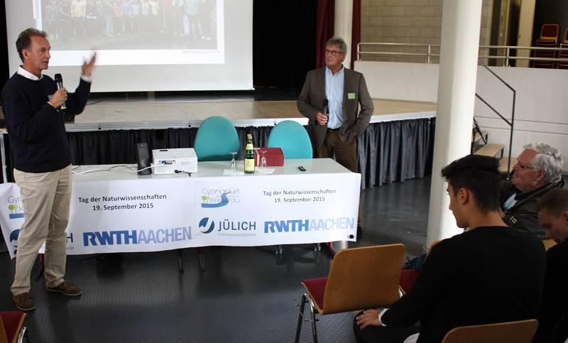24 Vorträge von Forschern gab es für die älteren Schüler und Gäste.