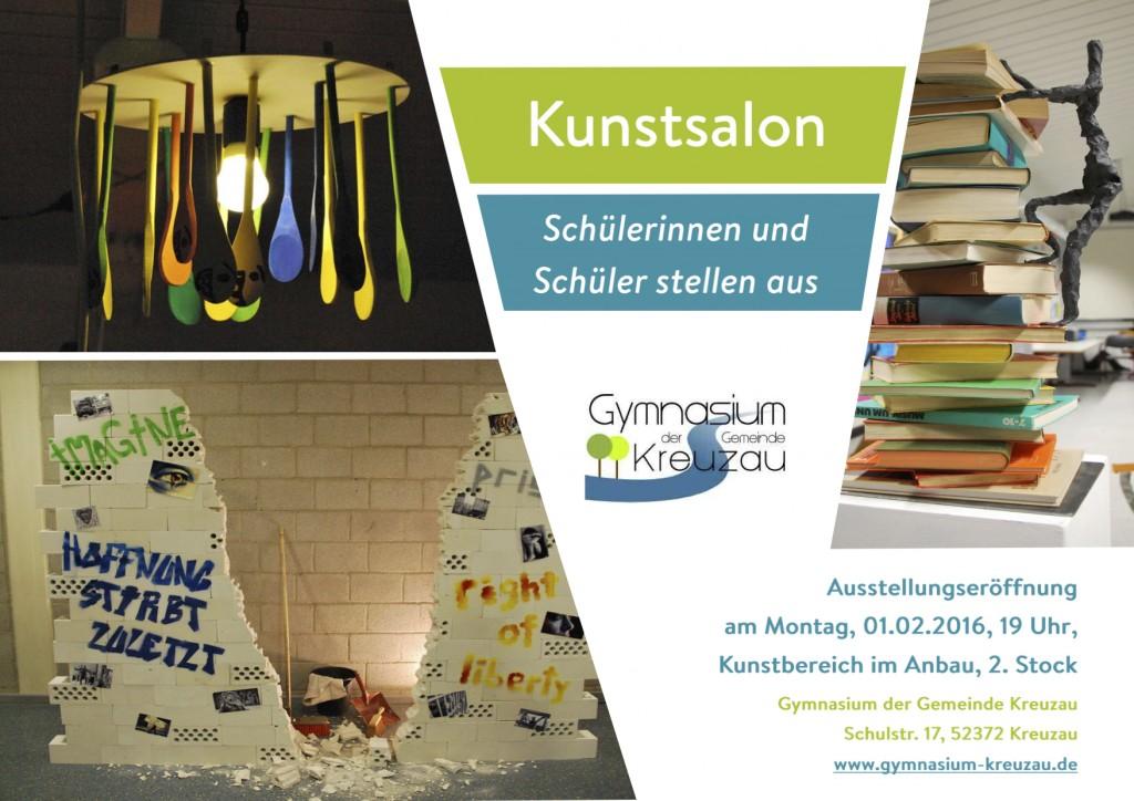 Plakat Kunstsalon 2016-2