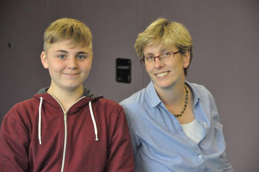 Simon Utecht befragte Unterstufenkoordinatorin Gerda Rubel für die digitale Schülerzeitung.