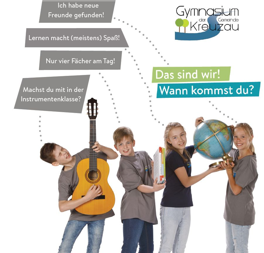 Die nächste Gelegenheit, unverbindlich am Gymnasium Kreuzau vorbeizuschauen, bieten wir im November an.