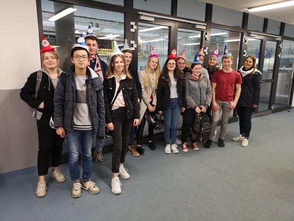Die Schülervertretung des Gymnasiums Kreuzau